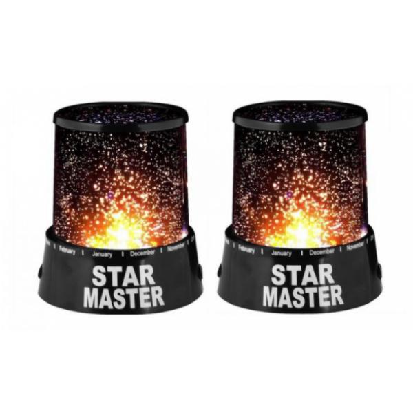 Spectacol de lumini: Set 2 lampi Star Master