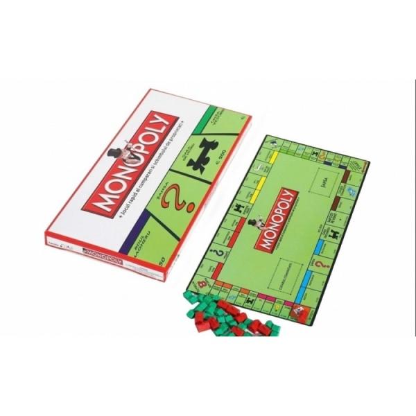 Joc Monopoly pentru cei mici - diverse personaje indragite