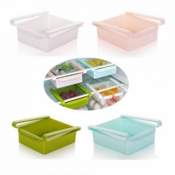 Set 2 cutii depozitare universale pentru frigider, birou, dulap, etc.