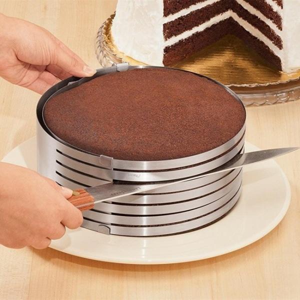 Feliator reglabil pt blat de tort 16-20 cm