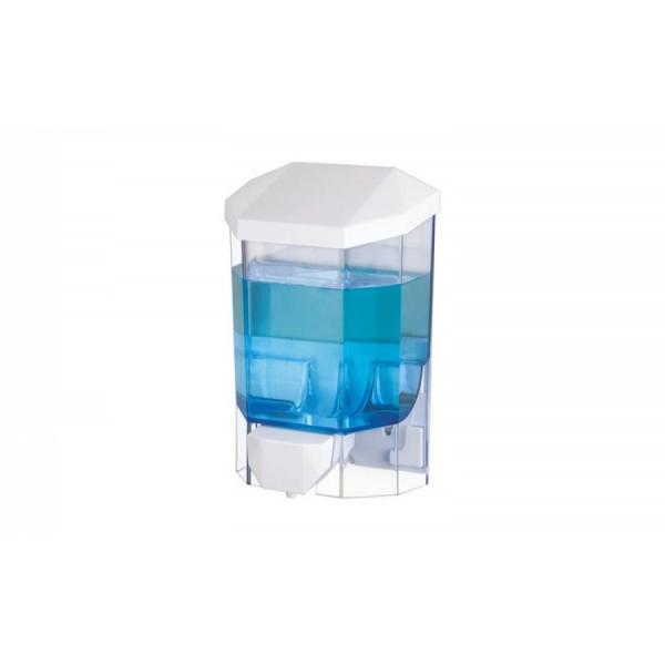 Dispenser pentru sapun lichid/ dezinfectant gel, 500 ml, fixare perete