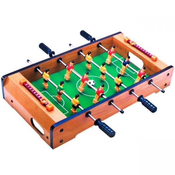 Masa de foosball pentru copii , din lemn , 50x31x10 cm