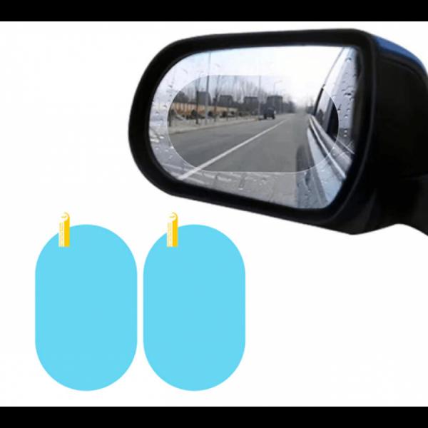 Set 2 x Folie pentru oglinzi auto
