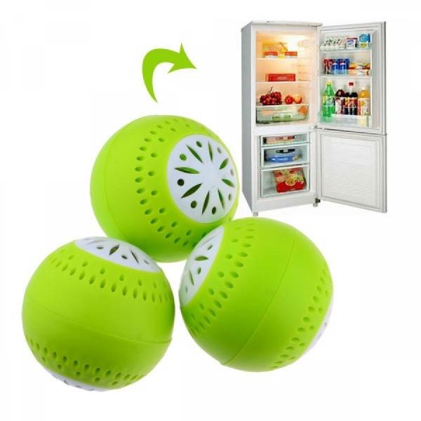 Set 3 bile odorizante pentru frigider