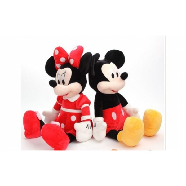 Set 2 plusuri, Mickey si Minnie, 30 cm
