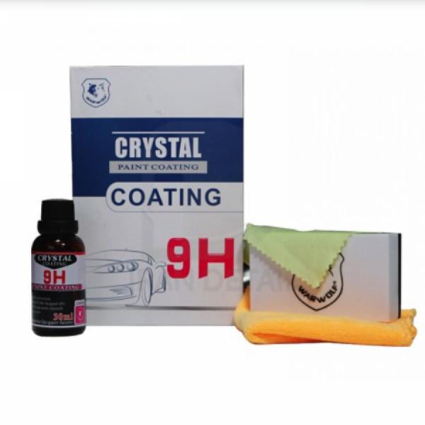 Protectie ceramica auto Crystal Coating 9H 30ml