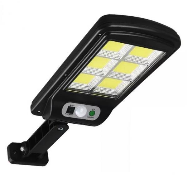 Mini proiector 150 LED COB 6 cu panou solar si senzor de miscare