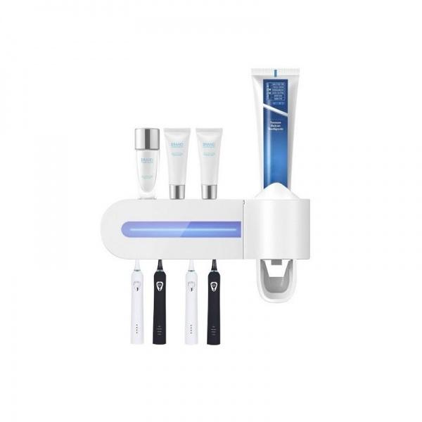 Dozator pentru pasta de dinti si sterilizator UV periute MND
