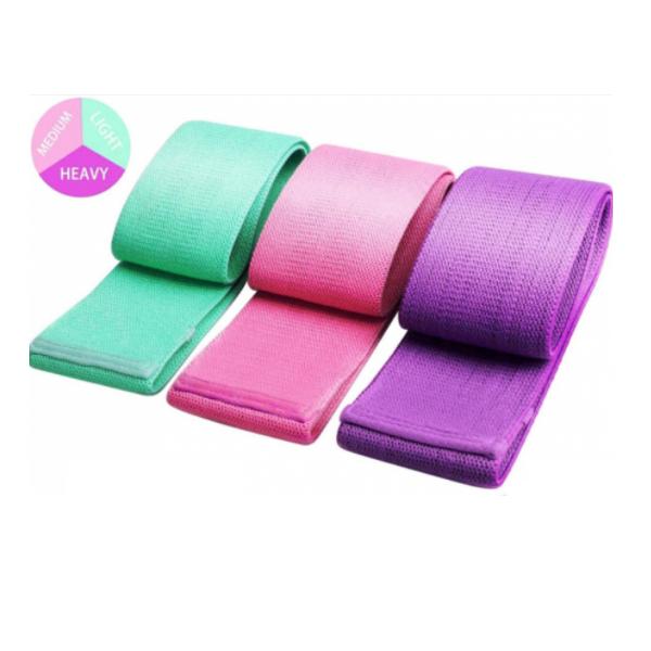 Set 3 benzi elastice,3 niveluri de rezistenta,saculet inclus