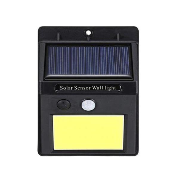 Lampa solara 48 LED, cu senzor de miscare si acumulator
