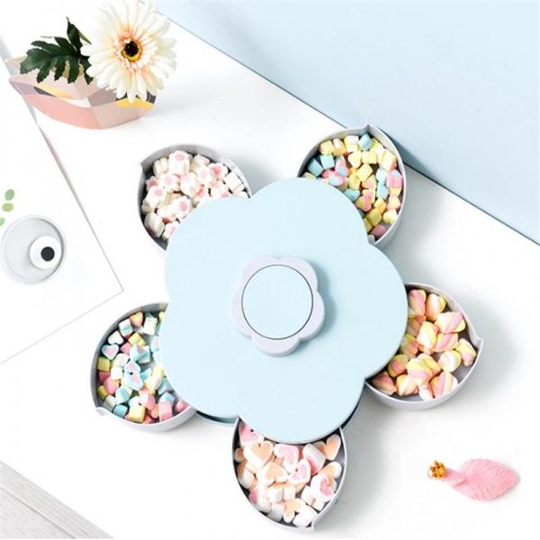 Cutie snacks cu 5 sertare - Floare cu petale