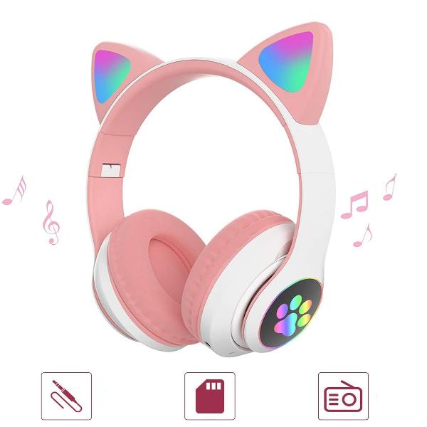 Casti cu urechi de pisica, ROZ