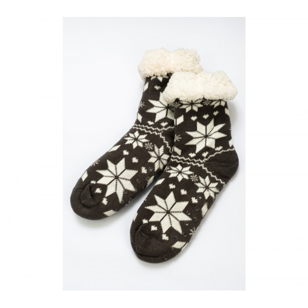 Set 2 perechi ciorapi cu interior imblanit pentru barbati Model Winter Season