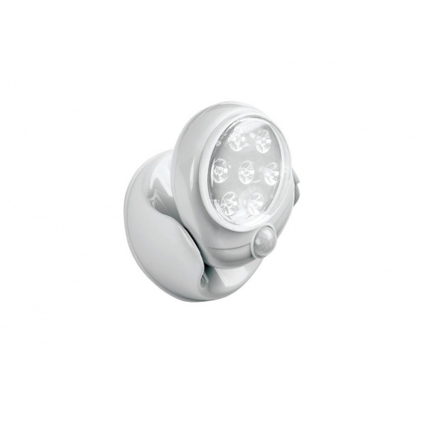 Bec Light Angel fara fir ajustabil cu senzor de miscare 360 grade si 7 leduri